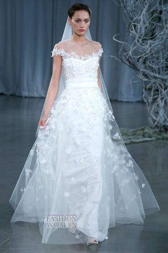 Весільні плаття monique lhuillier осінь зима