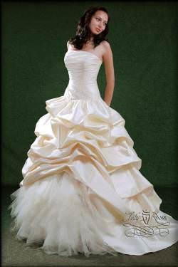 Бальне весільне плаття