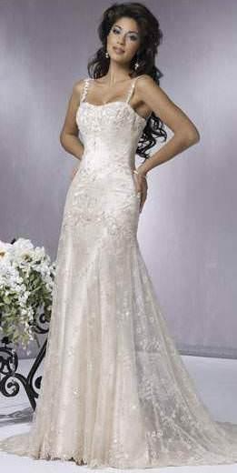 Мереживне весільне плаття символ