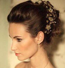 Весільна зачіска - французький твіст