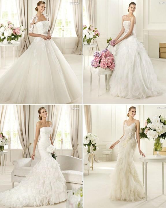 Колекція весільних платтів glamour 2013 від