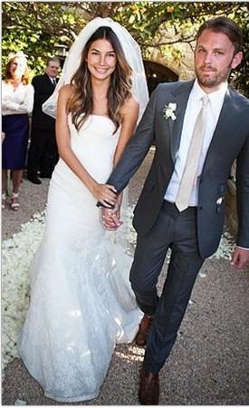 Весільні сукні знаменитостей 25 фото