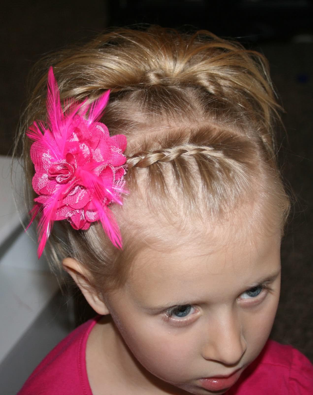 Детские прически с короткими волосами фото